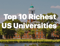 10 of the Richest Universities in the US
