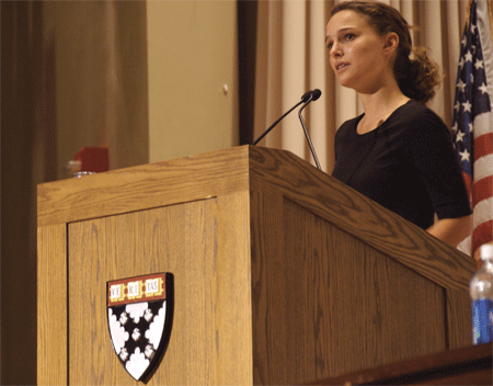 Star Wars Cast: Natalie Portman - Harvard University
