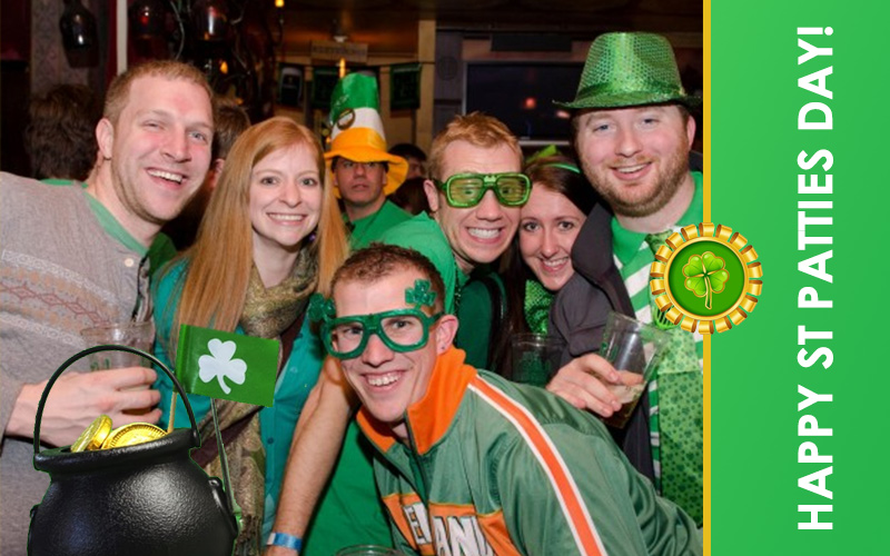 Green Day: The Ten Best St. Patrick's Day College Parties in The US