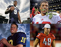 Check Out The Stars Of The Superbowl In Their College Days