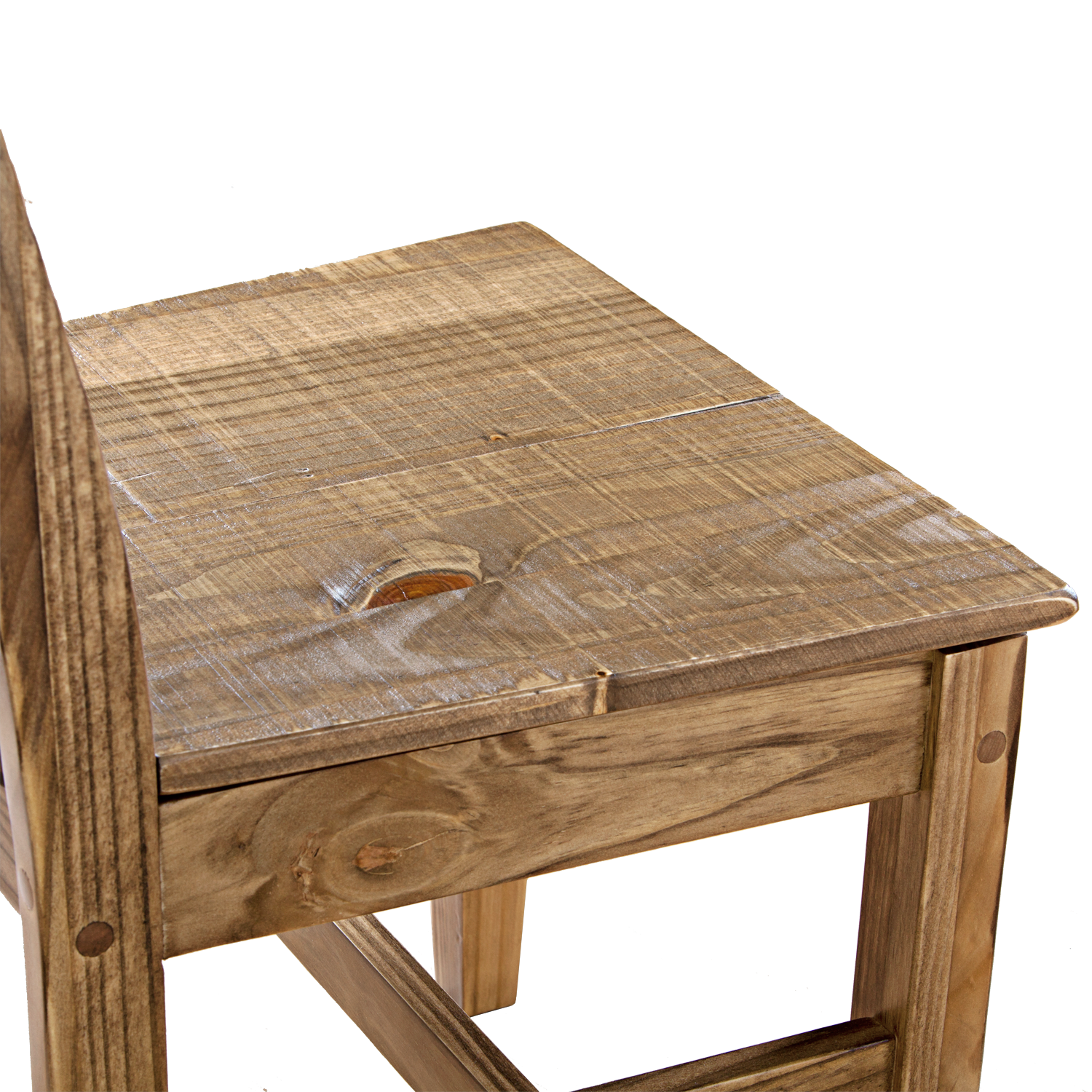schoolhouse chair with wood seat hotzon furniture inc