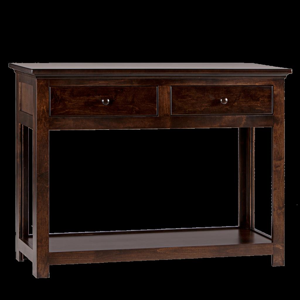Us Furniture Inc: Shaker 2 Drawer Hall Dresser