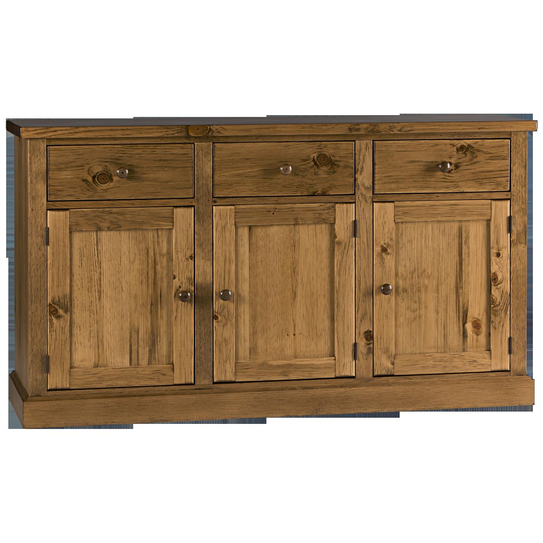 Us Furniture Inc: Heritage 3 Door Buffet
