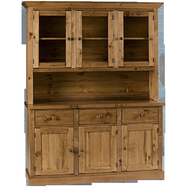 Us Furniture Inc: Heritage 3 Door 1/2 Hutch