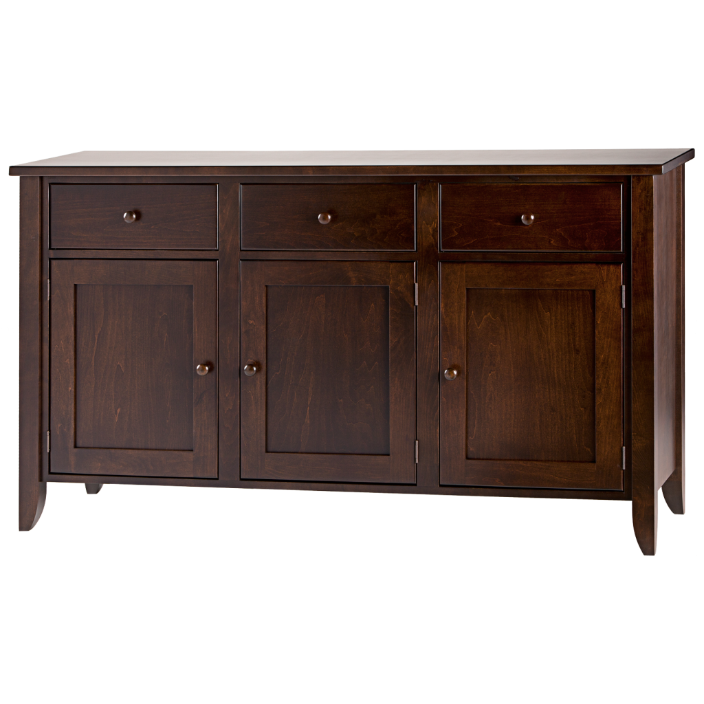 Us Furniture Inc: Tapered Leg 3 Drawer 3 Door Dining Chest