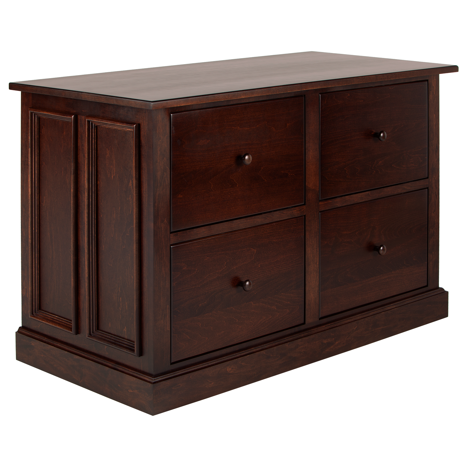 Tuscany 4 Drawer Lateral File Cabinet Hotzon Furniture Inc