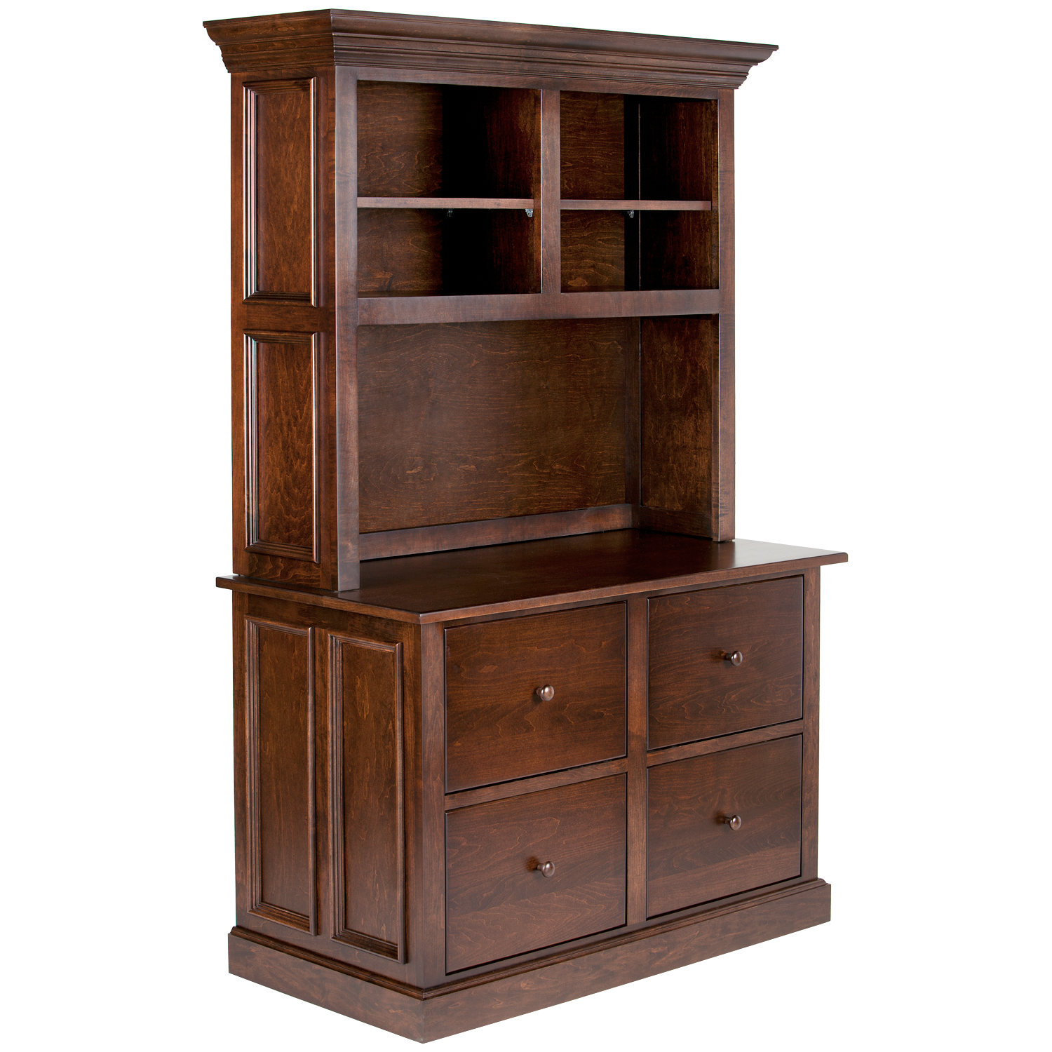 Tuscany Hutch for 45W Lateral File Cabinet