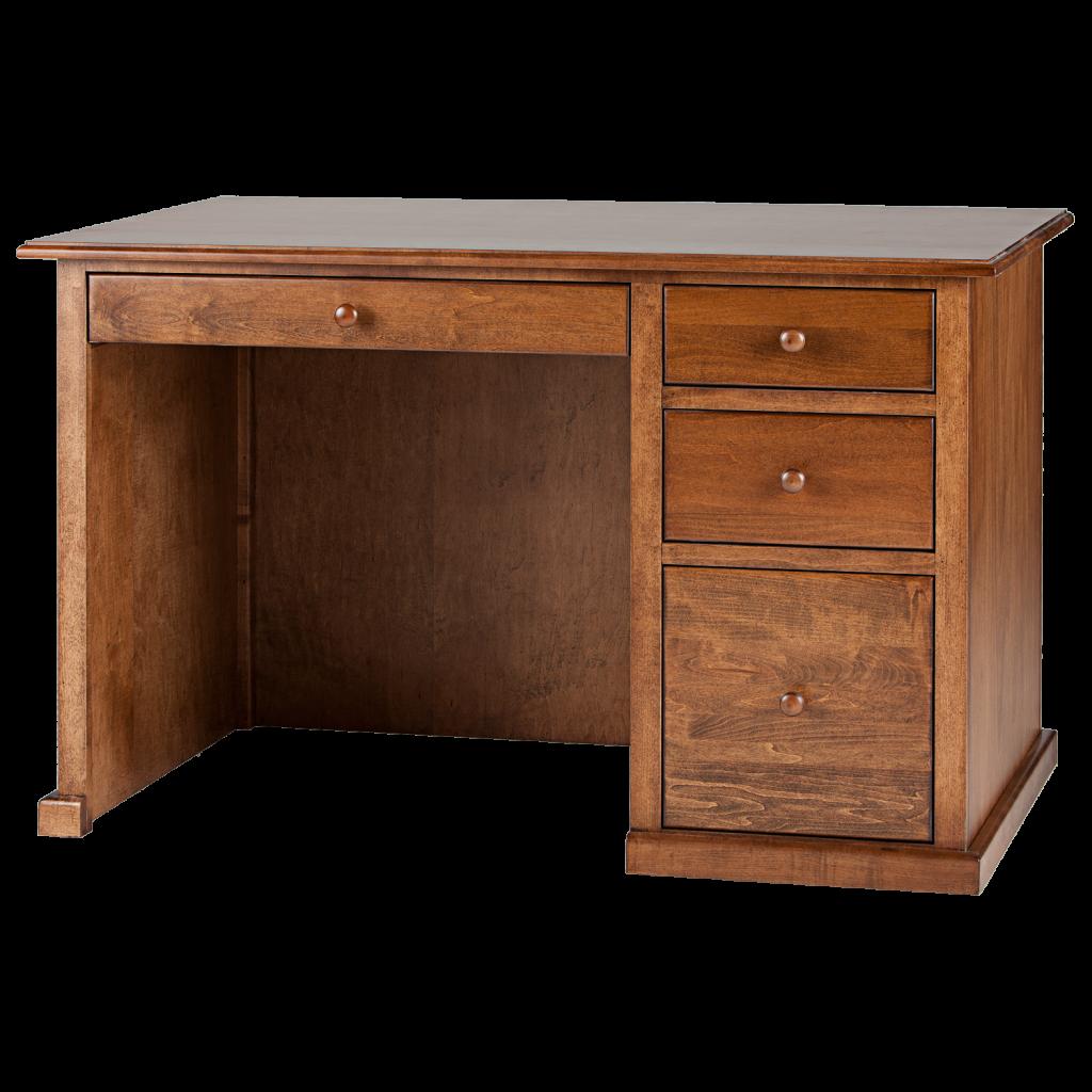 Traditional Single Pedestal Desk