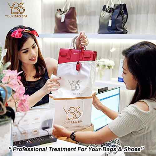 Cleaning Treatment Leather Bag Size M