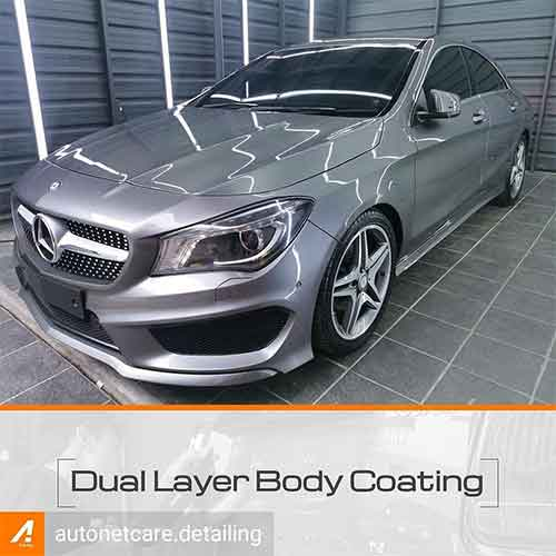 Promo Dual Layer Body Coating for Medium Car