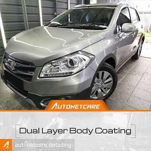 Promo Dual Layer Body Coating for Medium Car