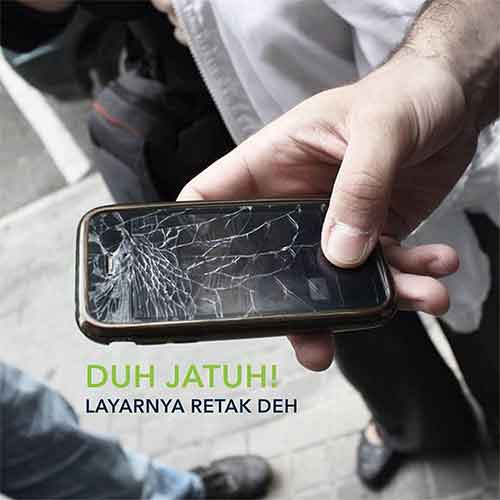 Perbaikan LCD IPHONE 5/5c