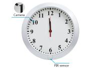 Reloj de Pared Espía con Cámara HD