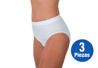 Paquete de 3 Pantaletas para incontinencia urinaria Wearever