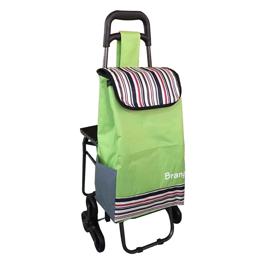 Carrito de mandado plegable con asiento inova m xico for Carritos con ruedas para cocina