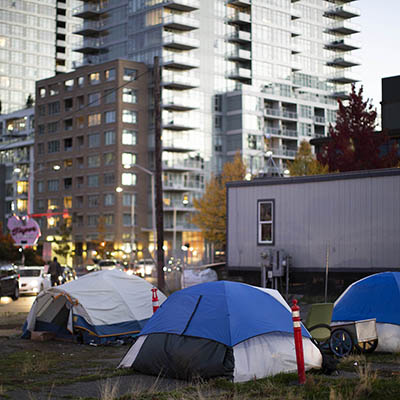 KNKX Homelessness Seattle
