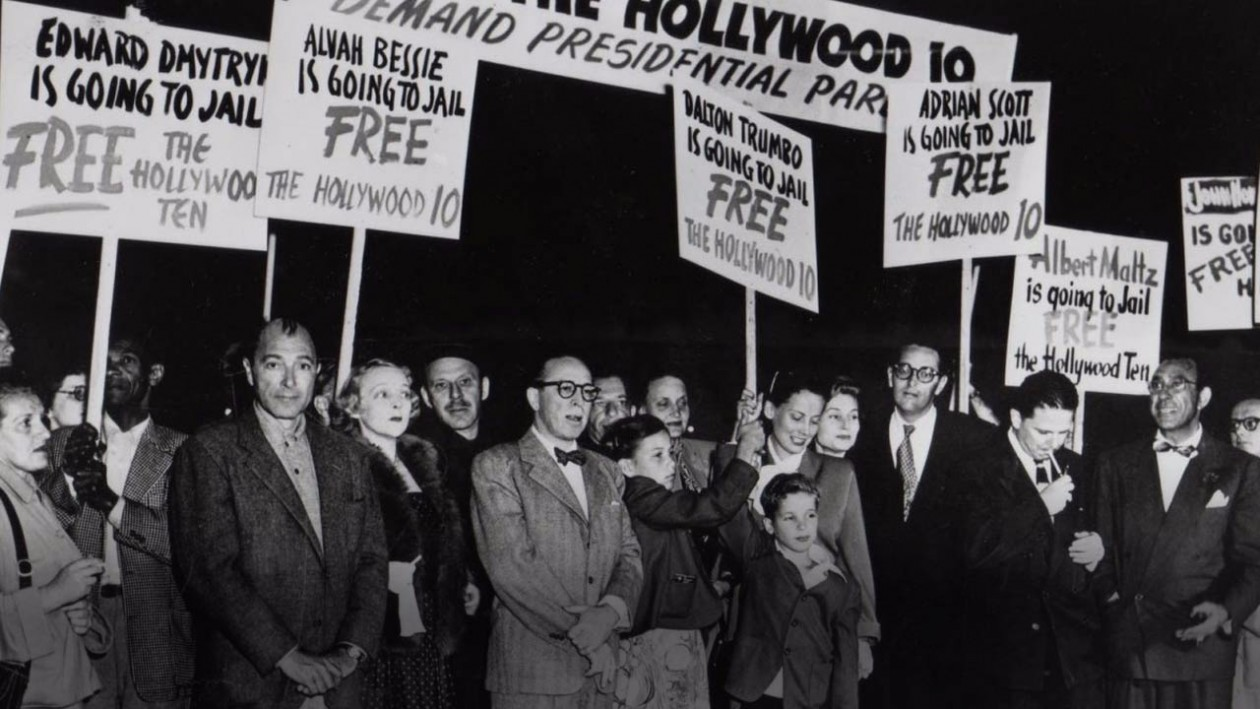 a biography of dalton trumbo a blacklisted writer as one of the hollywood ten Part of the hollywood ten  dalton trumbo was born in  within a few years he established himself as one of hollywood's most valued screenwriters with.
