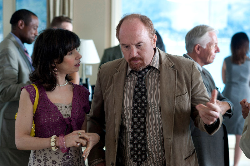 Sally Hawkins and Louis C.K. in Woody Allen's Blue Jasmine