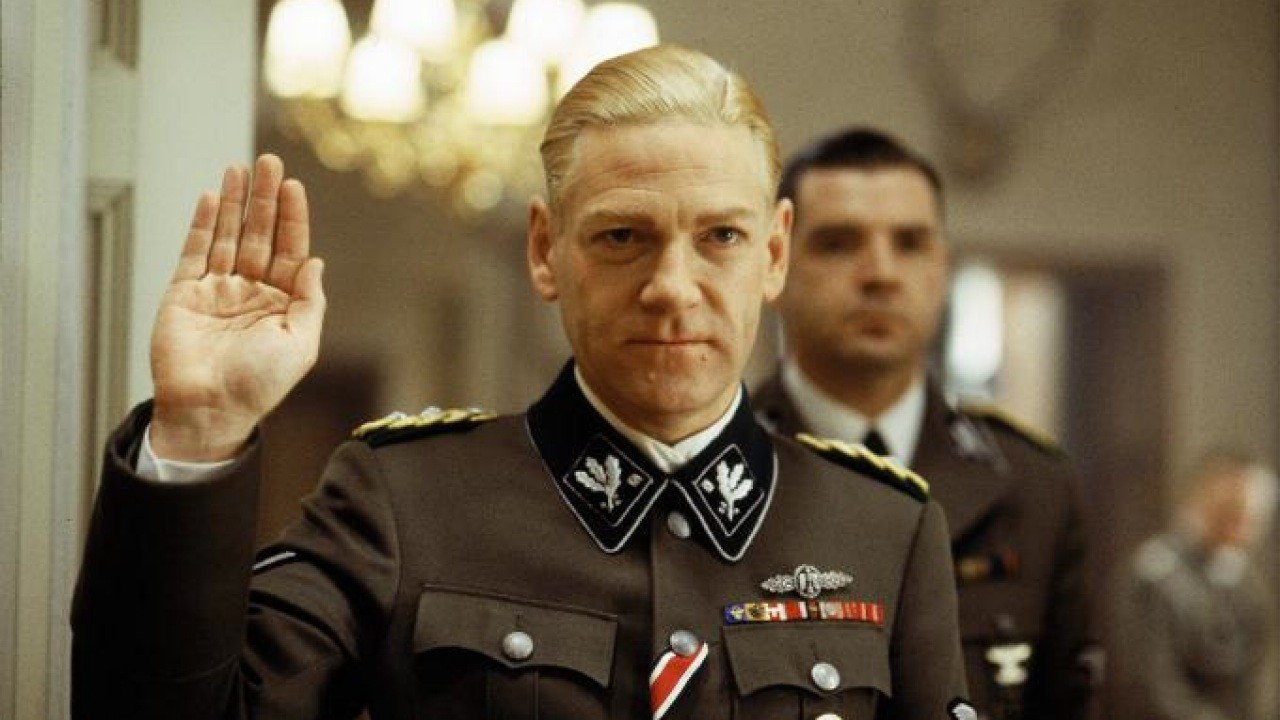 Kenneth Branagh as Reinhard Heydrich in Conspiracy