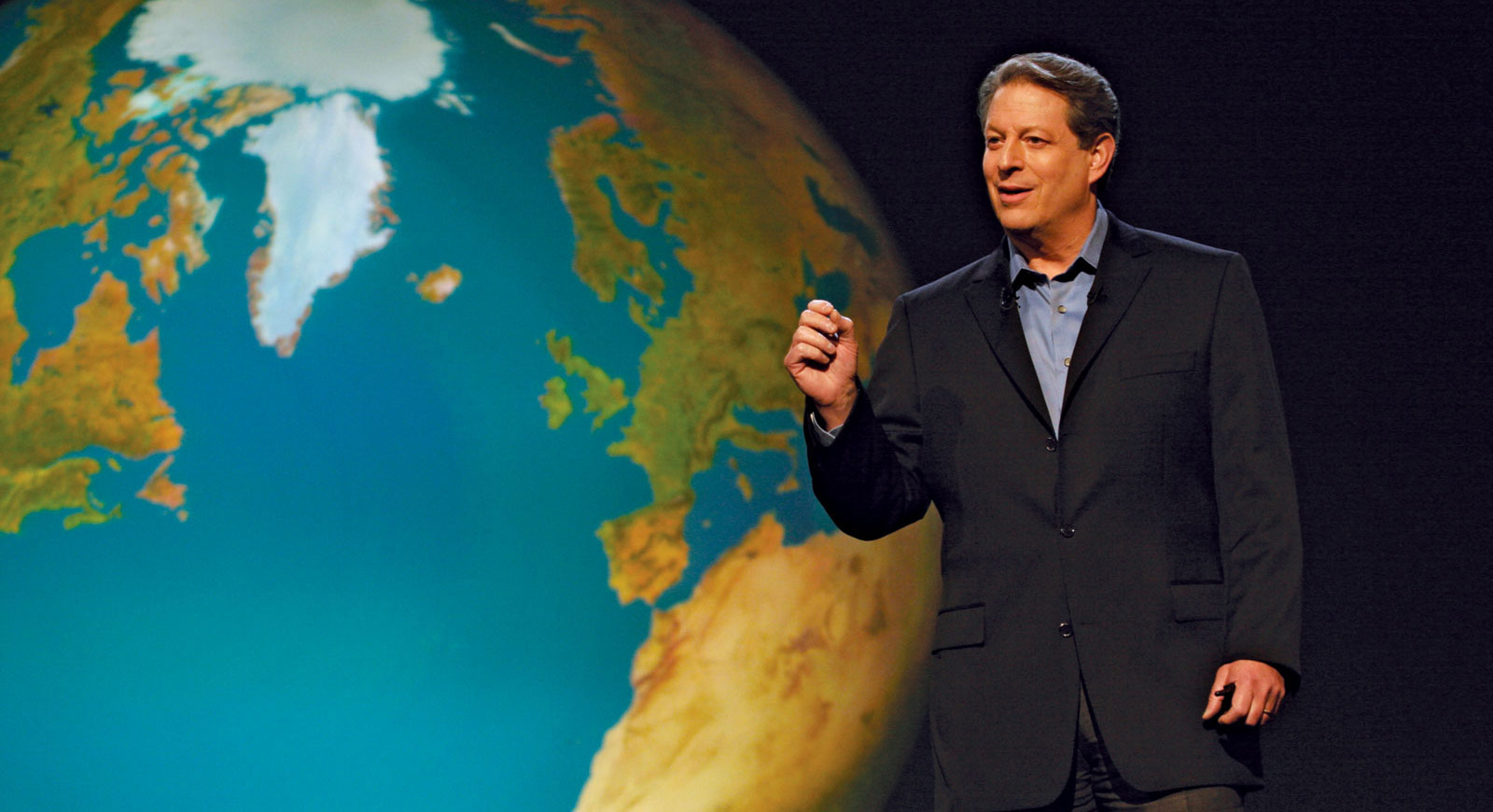 Al Gore in David Guggenheim's An Inconvenient Truth