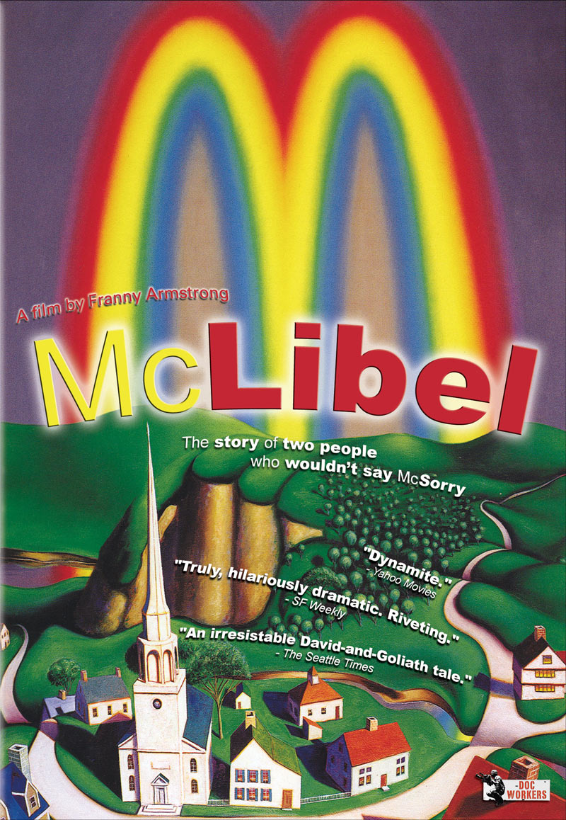 Poster for the documentary McLibel
