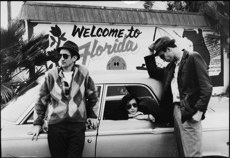 Richard Edson, Eszter Balint, and John Lurie in Stranger Than Paradise