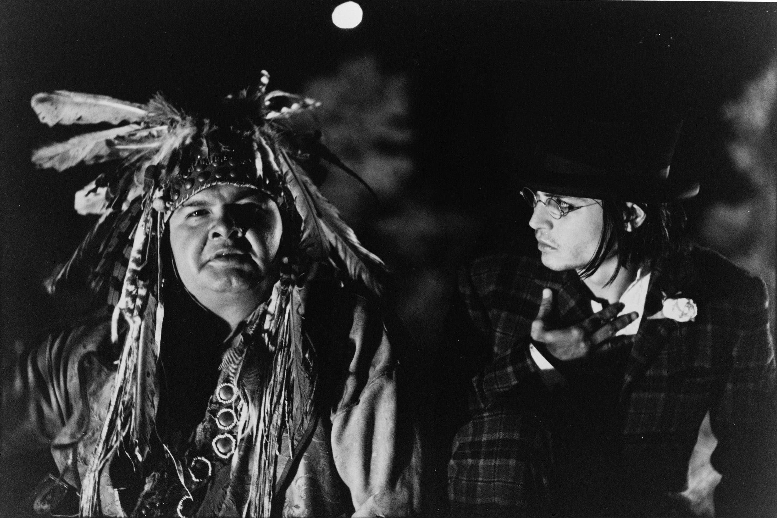 Gary Farber and Johnny Depp in Dead Man