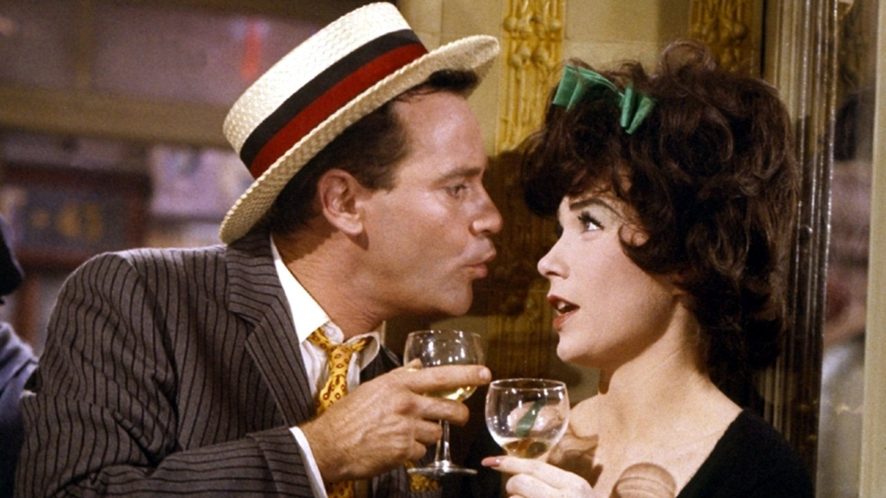 Jack Lemmon and Shirley MacLaine in Irma la Douce