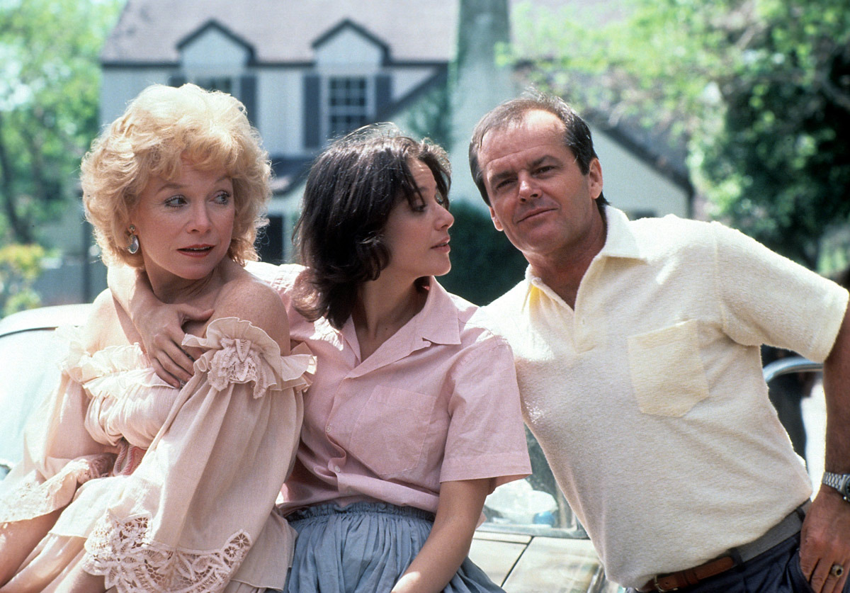 Shirley MacLaine, Debra Winger, and Jack Nicholson in Terms of Endearment