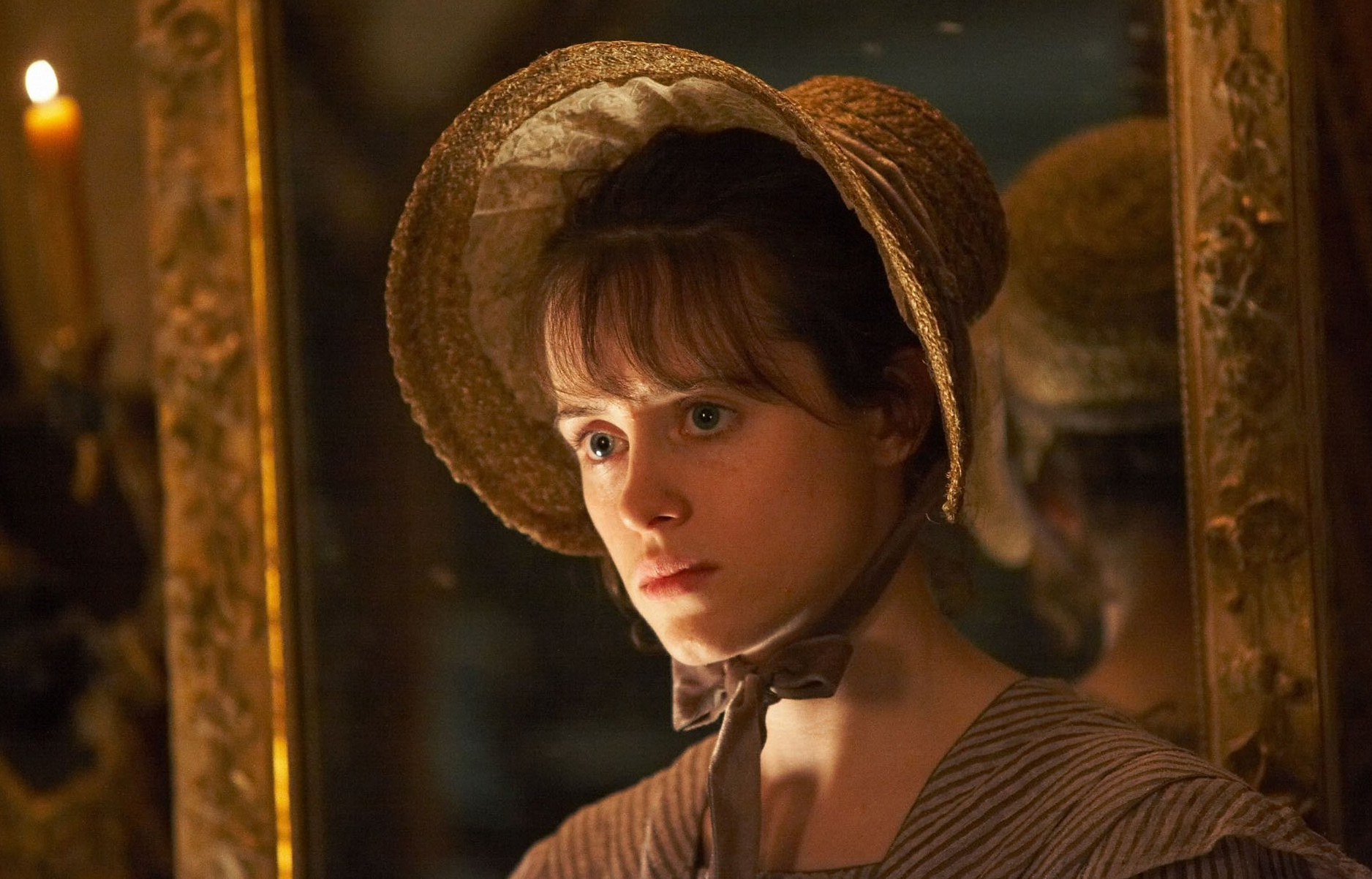 Foy as Amy in Little Dorrit