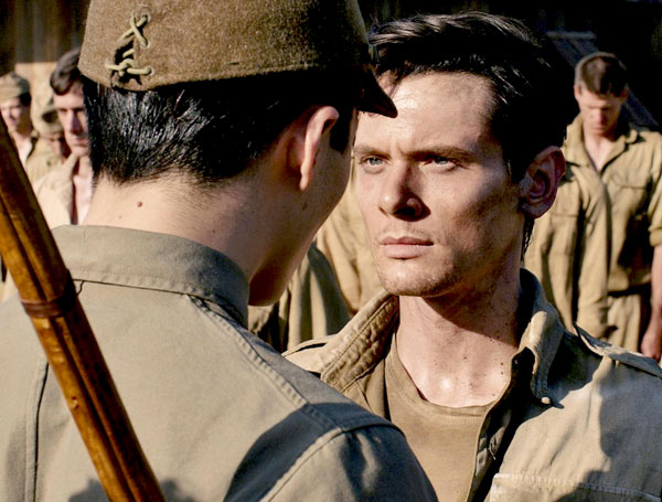Jack O'Connell plays Louis Zamperini in Angelina Jolie's Unbroken