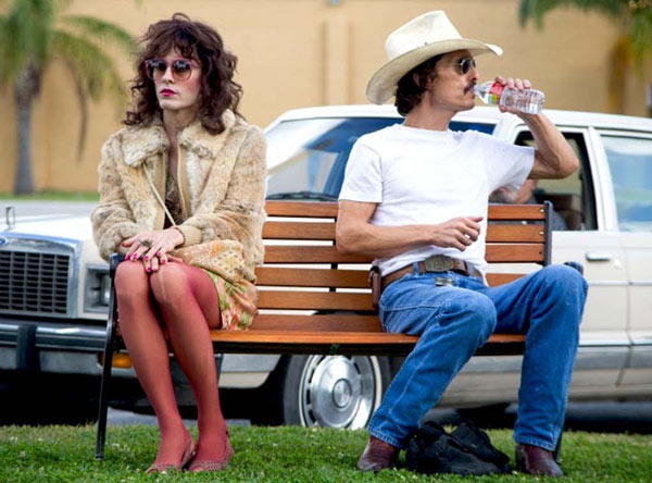 Jared Leto and Matthew McConaughey in Dallas Buyers Club