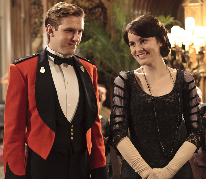 Stevens and Michelle Dockery in [em]Downton Abbey[/em]