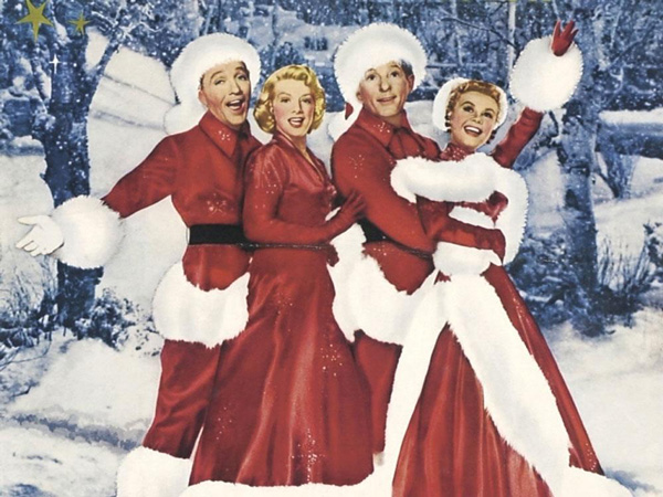although michael curtizs hit holiday film white christmas was release in 1954 nearly a decade after world war ii ended the films success - White Christmas Snow Song