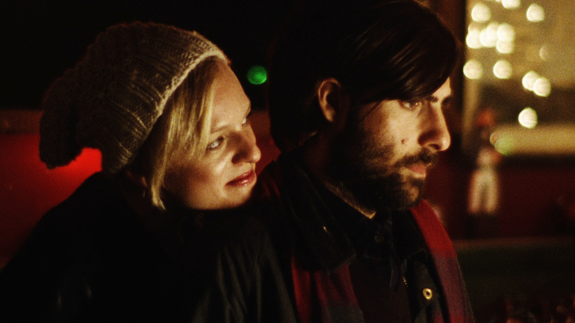 Elisabeth Moss and Jason Schwartzman in <em>Listen Up Philip</em>