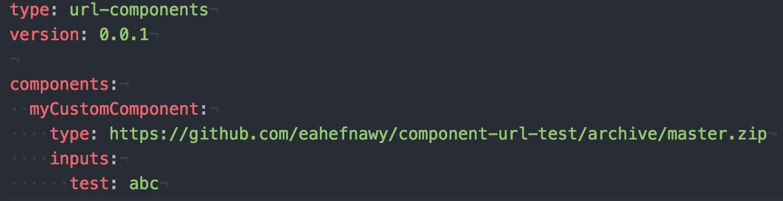 component type url