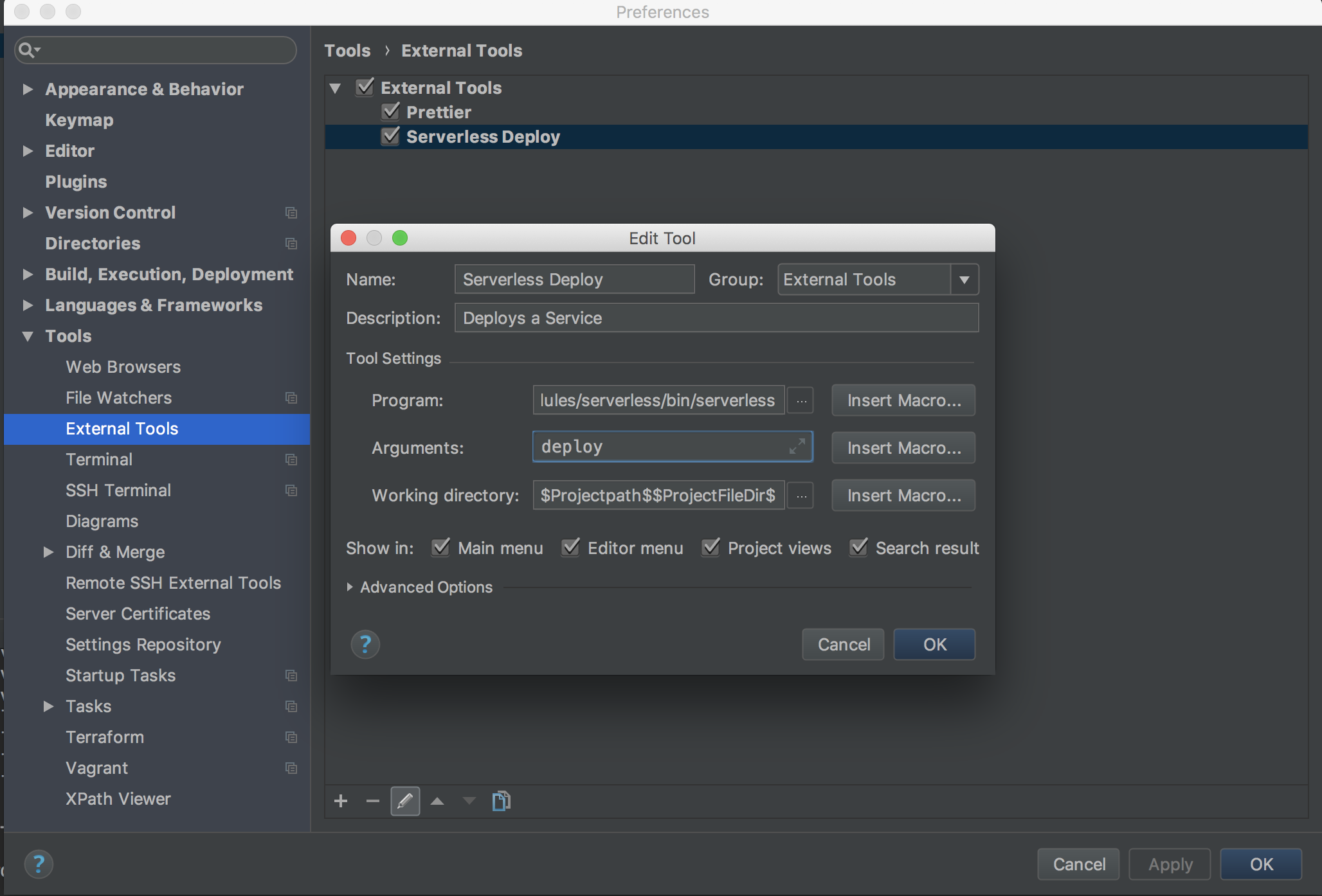 webstorm key shortcuts