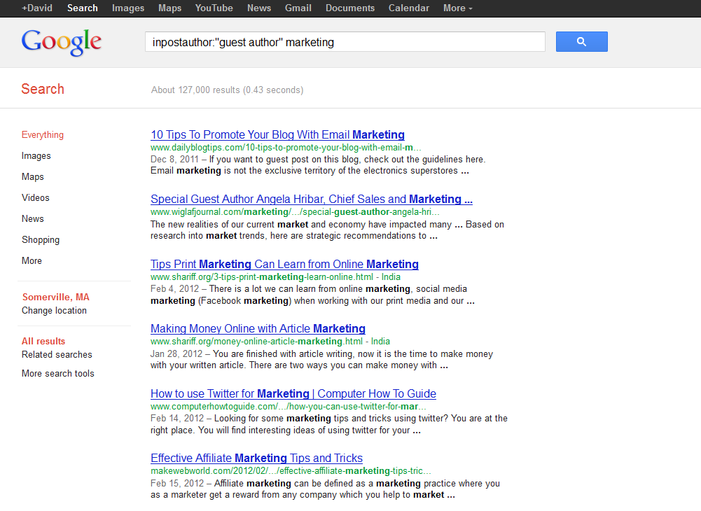 How To Quickly Find Sites to Guest Post on with Advanced Search
