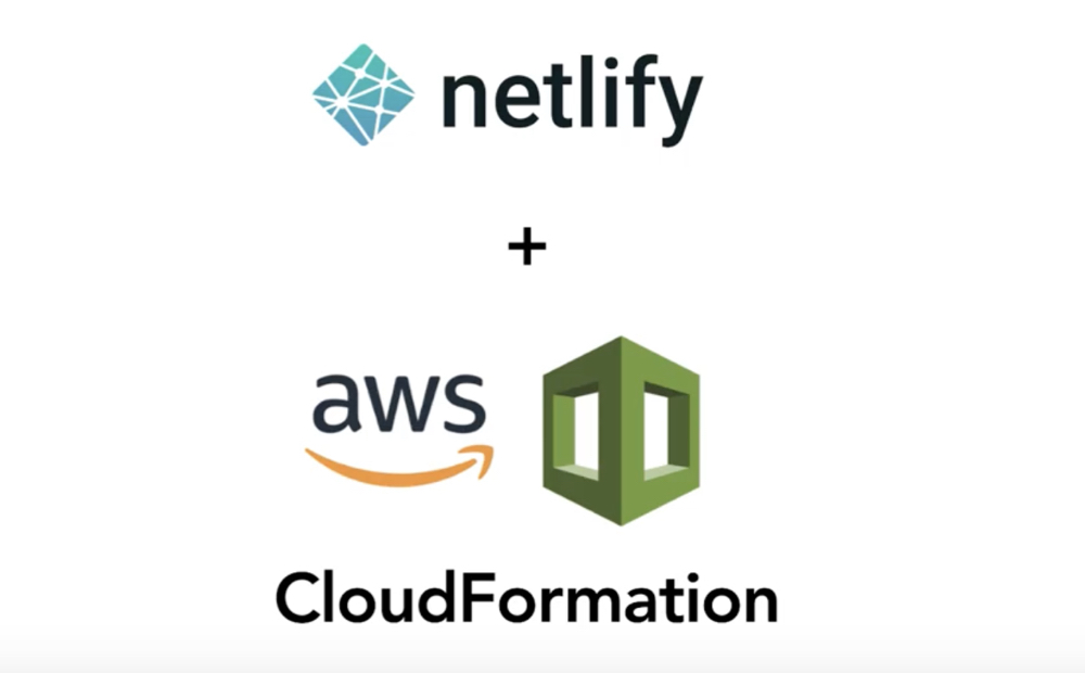 Deploy netlify sites as part of CloudFormation stack