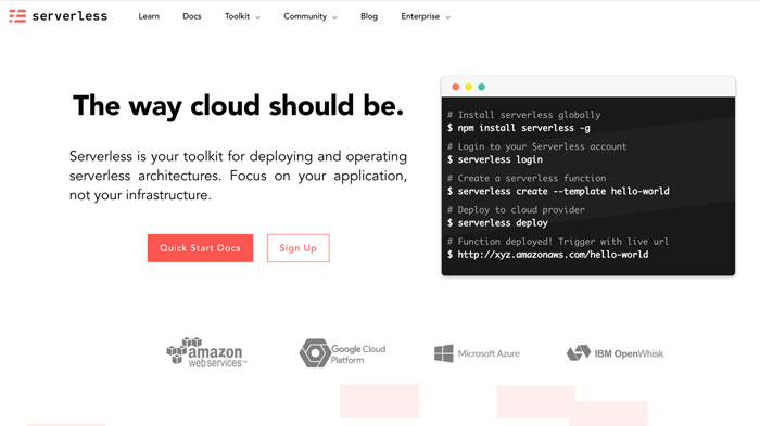 Static site powered by React, markdown and serverless APIs
