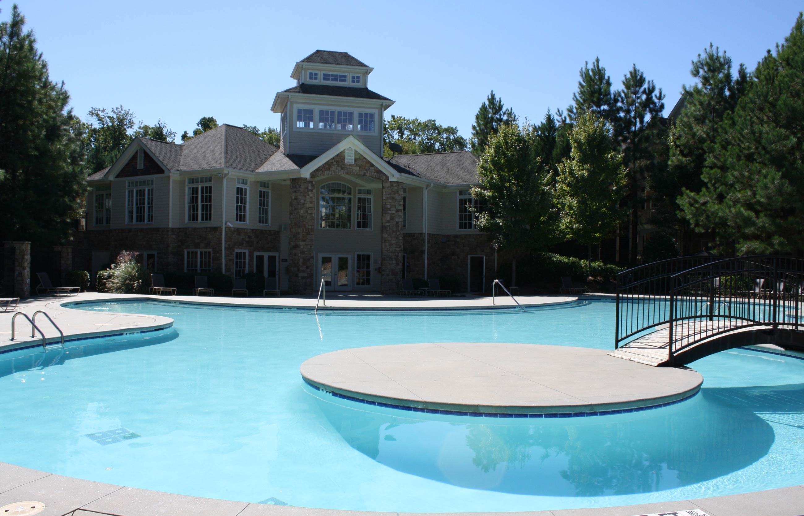 Apartments in Norcross offering a sparkling swimming pool
