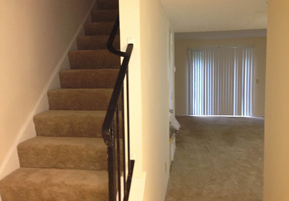 Interior view of our apartments in Brunswick