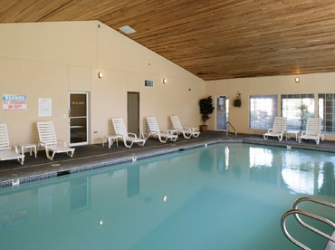 University Place apartments has a luxury pool