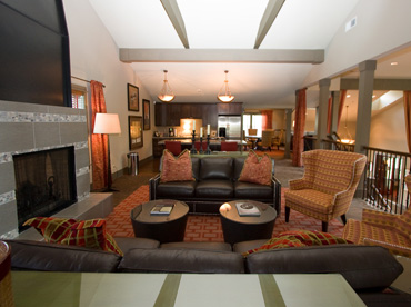 Apartments in Kent have a relaxing lounge area