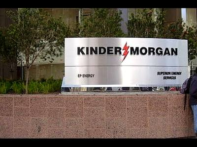Kinder Morgan Slumps as Focus Remains on Reducing Debt