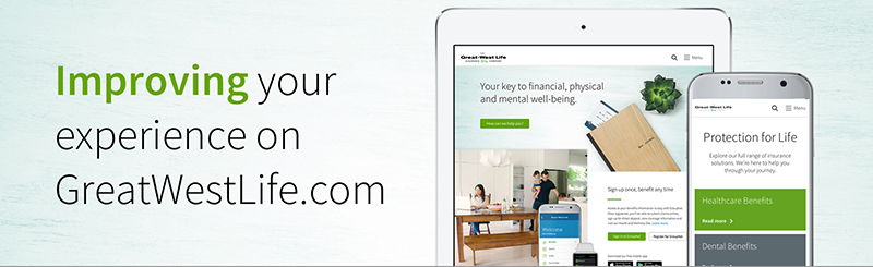 Improving your experience on GreatWestLife.com