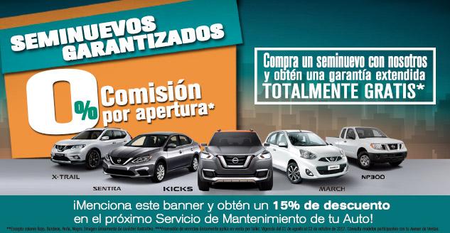 1f37508a8 Promociones vigentes de autos seminuevos - Nissan Soni Automotriz ...