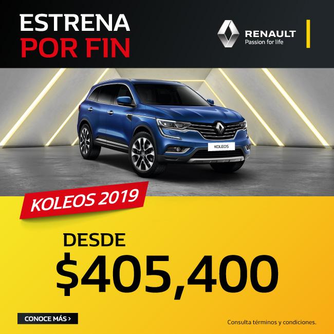 Estrena POR FIN Una Renault Koleos 2019