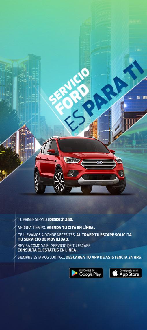 Servicio Escape 2017 Distribuidores Ford Santa Fe Mexico