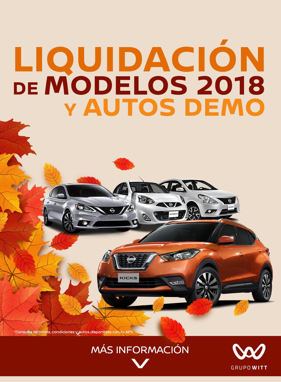 3865f1986384 LIQUIDACIÓN DE MODELOS 2018 Y AUTOS DEMO - Nissan Perinorte - Cuautitlán  Izcalli